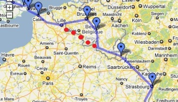 South Coast To BrusselsOr Luxembourg CyclingEuropeorg - Where is brussels