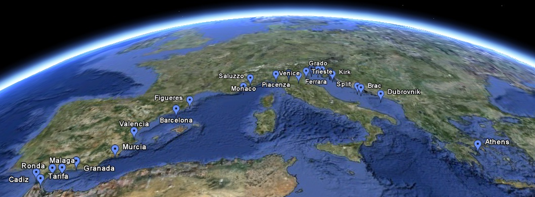 Google Maps | CyclingEurope.org