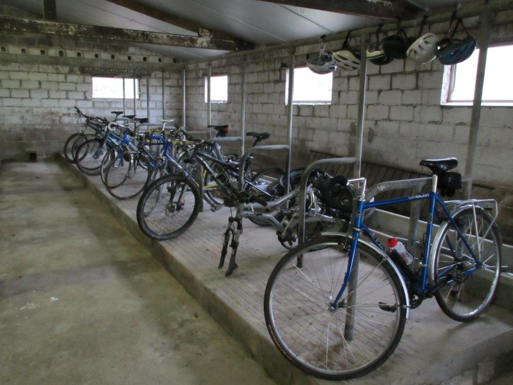 Kevin Mayne's Bike Shed