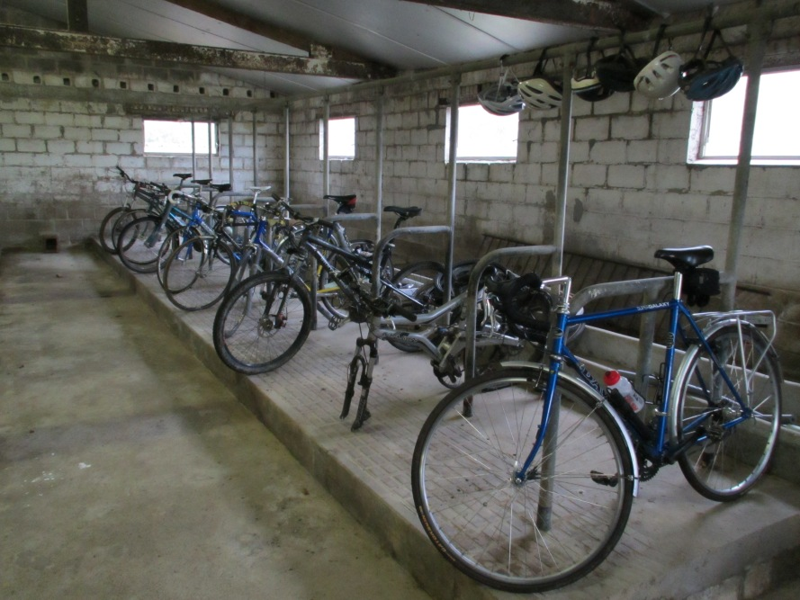 Kevin Mayne's Bike Shed