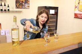 Wine tasting at Monbazillac