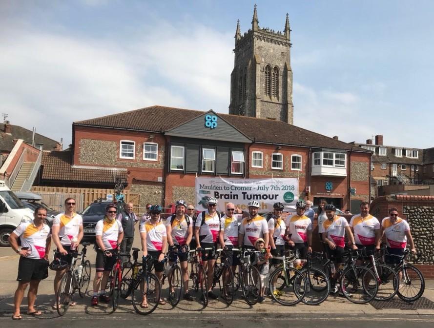 get on yer bike to beat brain tumours